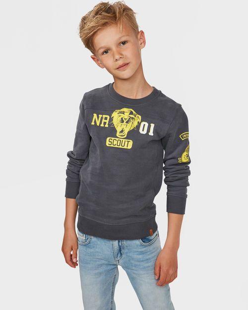 Jungen Sweatshirt Mit Print Grau Boyz Loverz In 2019