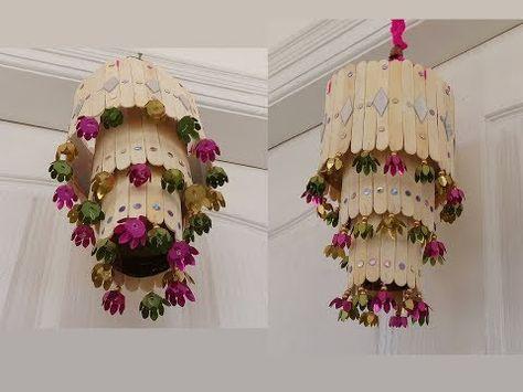 Newspaper Polythene Bag Wind Chime Newspaper Wall Hanging Easy