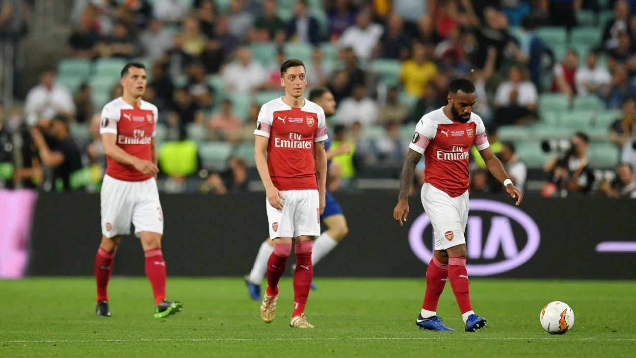 Arsenal Manager Unai Emery Expressed Disappointment In The Team S Europa League Loss But Asked Fans To Continue To Trust The Pro Soccer News Soccer Team Soccer