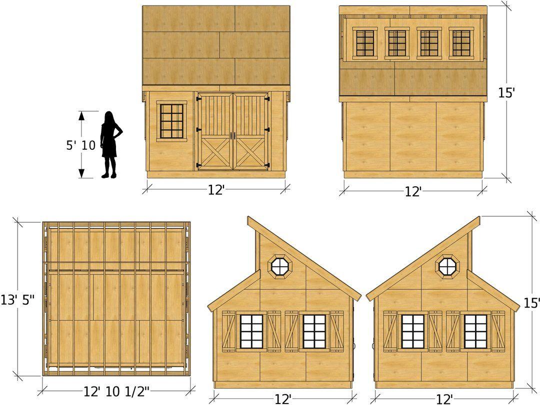 Irene Shed Plan 2 Sizes Diy Shed Plans Shed Roof Design Shed Plan