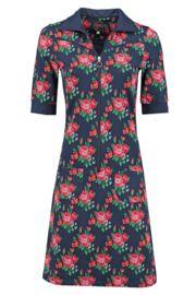 Tante Betsy - Dress Sporty Roses Navy