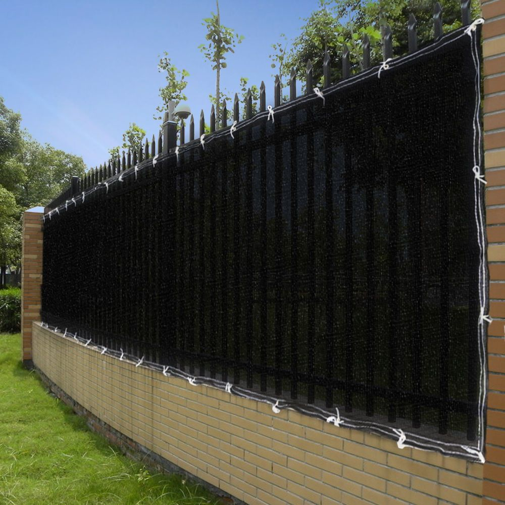 25ft 50ft Privacy Screen Mesh Fence Cover Windscreen Fabric For