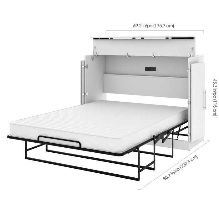 Murphy Bed With Mattress In 2020 (With Images)