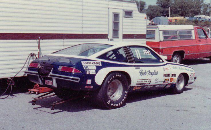 Vintage Drag Racing Pro Stock Bob Ingles Chevy Monza Drag