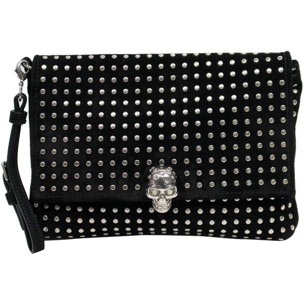 Alexander McQueen Pre-owned - Skull cloth clutch bag