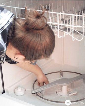 l 39 entretien du lave vaisselle en trois tapes simples morjane pinterest cleaning cleaning. Black Bedroom Furniture Sets. Home Design Ideas