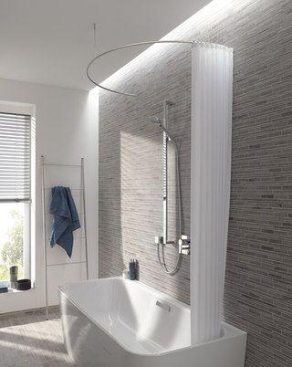 Phos Design duschvorhangstange gebogen als halbkreis-phos design | bathrooms