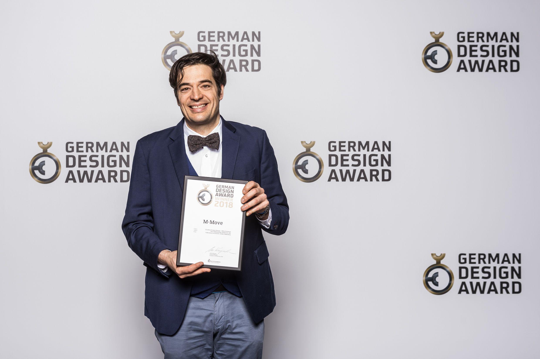 Badkamer Design Award : German design award preisverleihung hund möbelwerke
