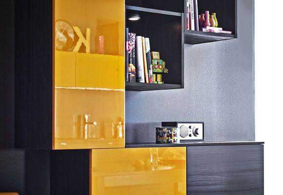 Amarillo y negro en la cocina, ¿Te atreves? | Amarillo,negro,blanco ...
