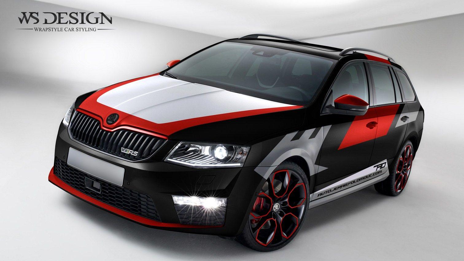 1 skoda octavia rs combi 1512 850 2016 car wraps pinterest autofolierung. Black Bedroom Furniture Sets. Home Design Ideas