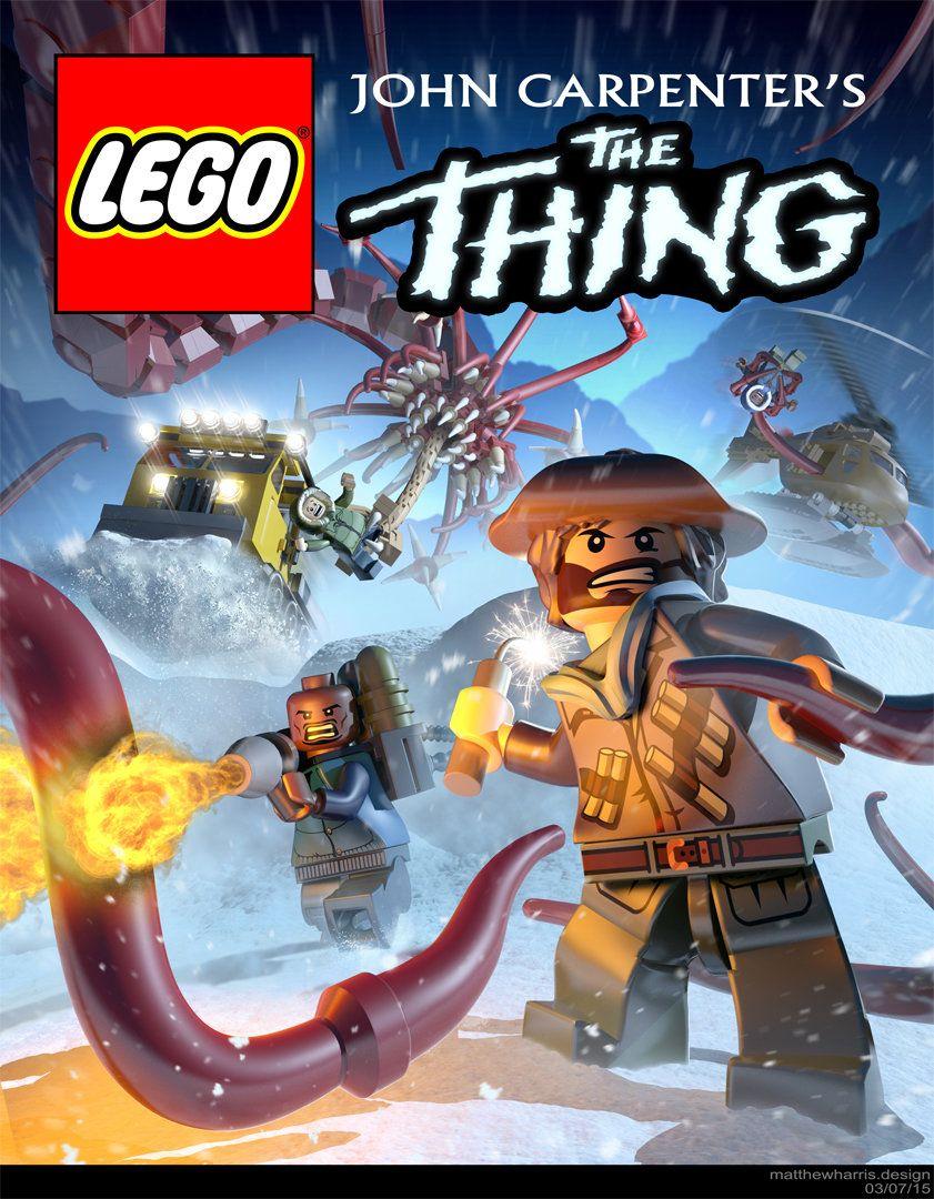 Lego The Thing Matthew Harris Lego Comic Book Cover Legos