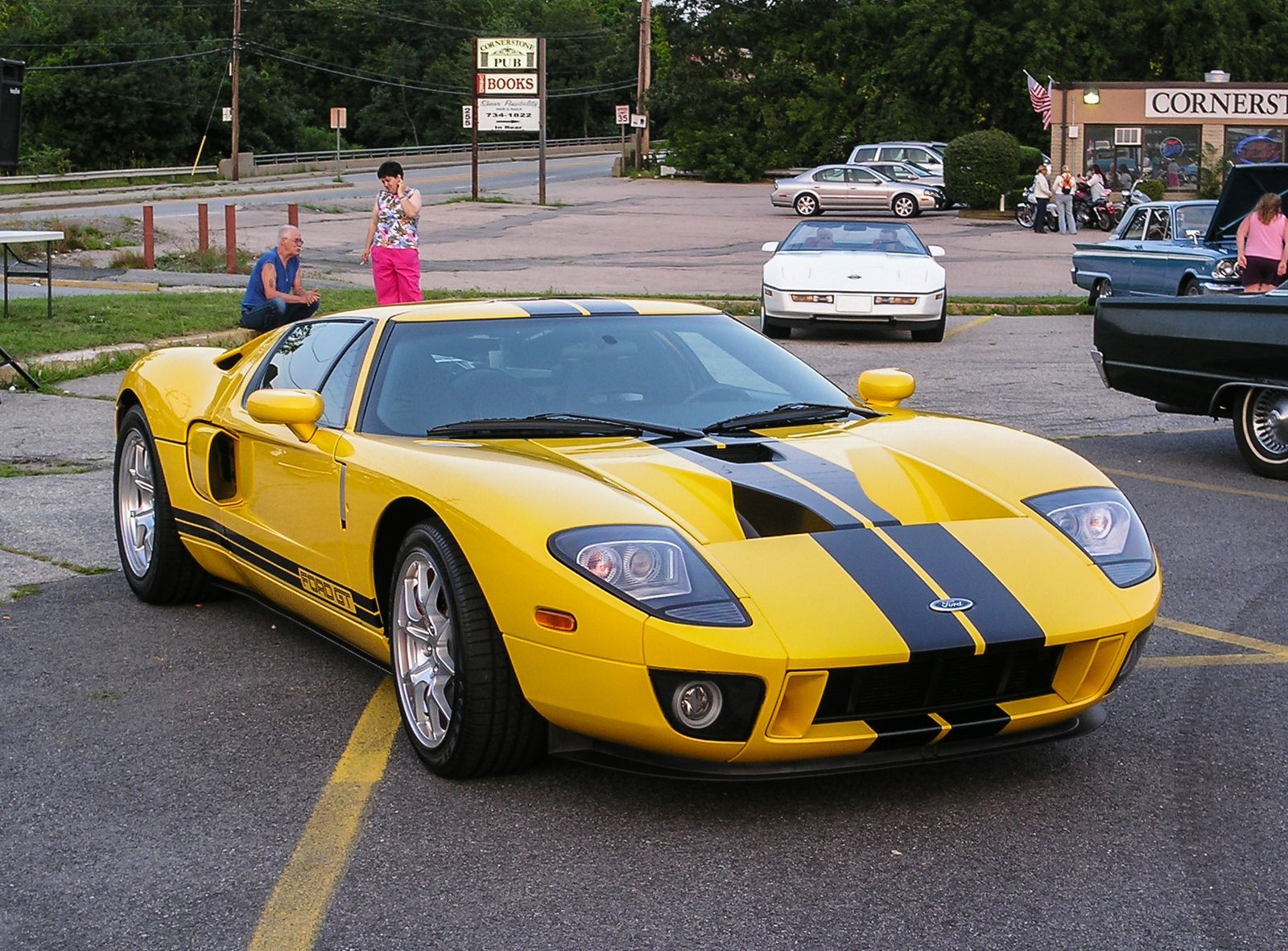 The 100 Hottest Cars Of All Time Ford Gt Ford Gt 2005 Ford Gt 2017