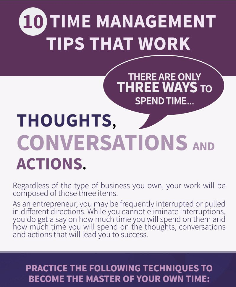 How to Manage Time With 10 Tips That Work Time management - 10 tips for creating a resume