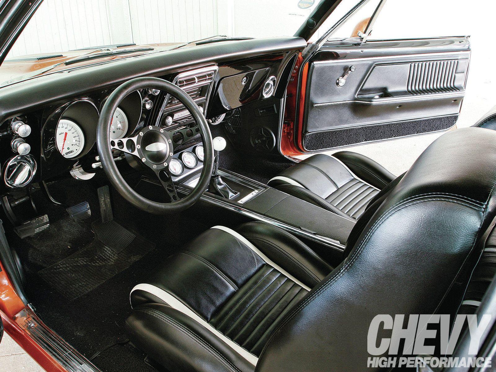 1967 chevrolet camaro interior