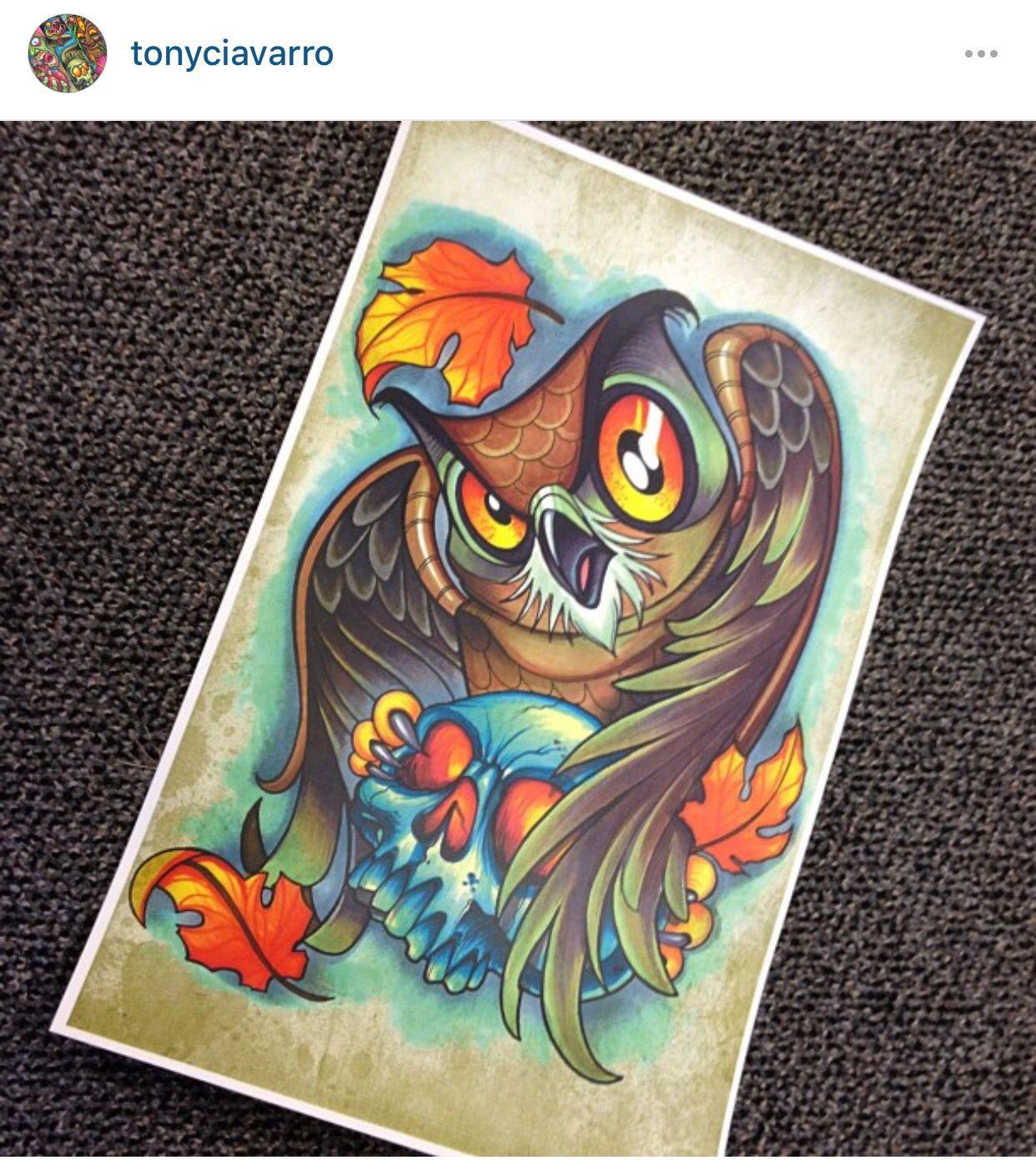 Tony Ciavarro owl