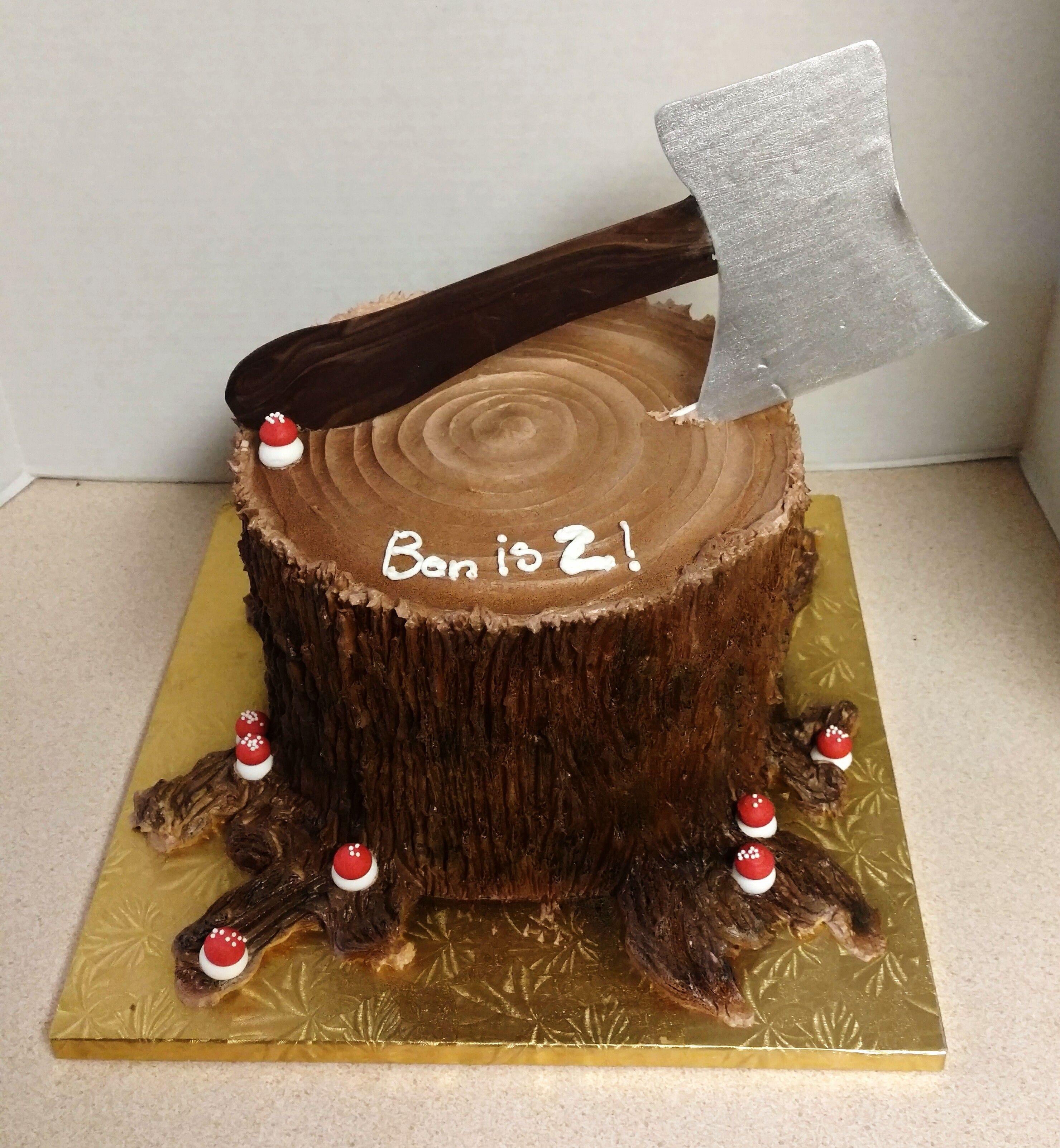 Such A Fun Birthday Cake Idea Forest Themed Gourmet Custom Cakes