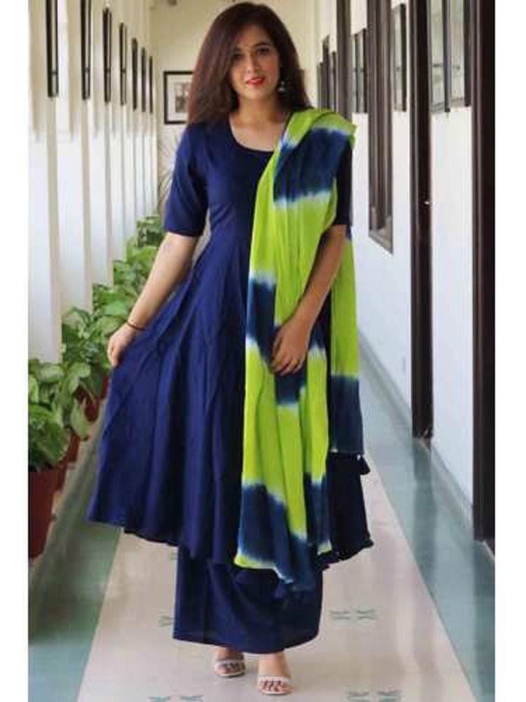aea4588b56 #Indian #Designer #Readymade #Blue Salwar Kameez #Ethnic Wear #Palazzo  Punjabi Suit #Handmade #SalwarKameez