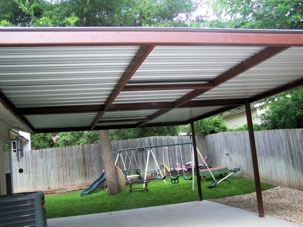 Attached Lean To Patio Cover North West San Antonio Covered