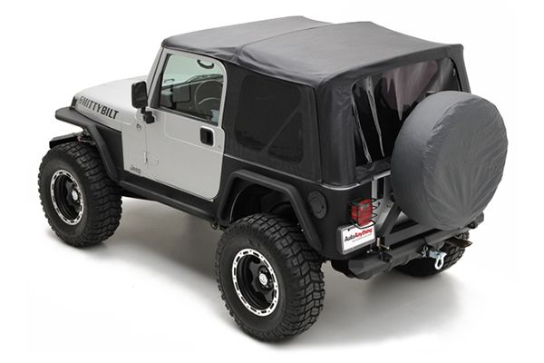 Smittybilt Soft Tops Smittybilt Replacement Jeep Soft Top Jeep