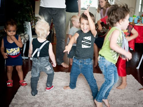 The Turning Three Rocks Tour Kids Rockstar Birthday Party
