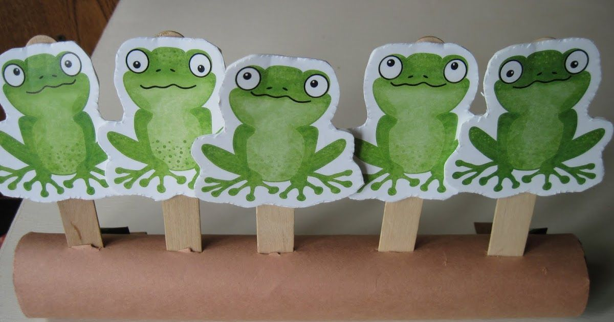 Tuesday Teachings Five Green and Speckled Frogs Frog