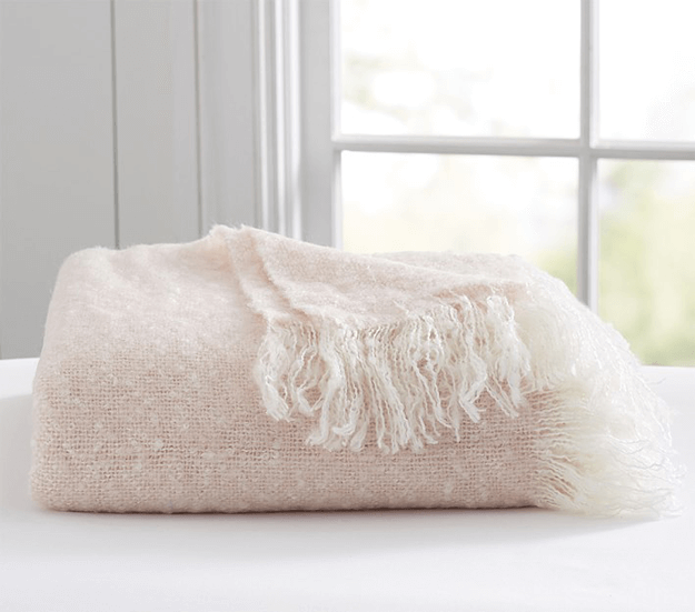 BENJAMIN MOORE PINK BLISS Benjamin Moore 'Pink Bliss' Pinterest Awesome Pale Pink Throw Blanket