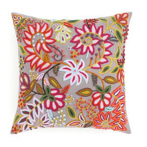 Lima Grey Decorative Pillow