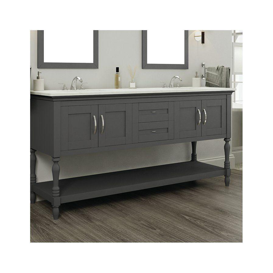 Hampton 72 Double Contemporary Bathroom Vanity Set Bathroom Vanities Without Tops Bathroom Vanity Contemporary Bathroom Vanity