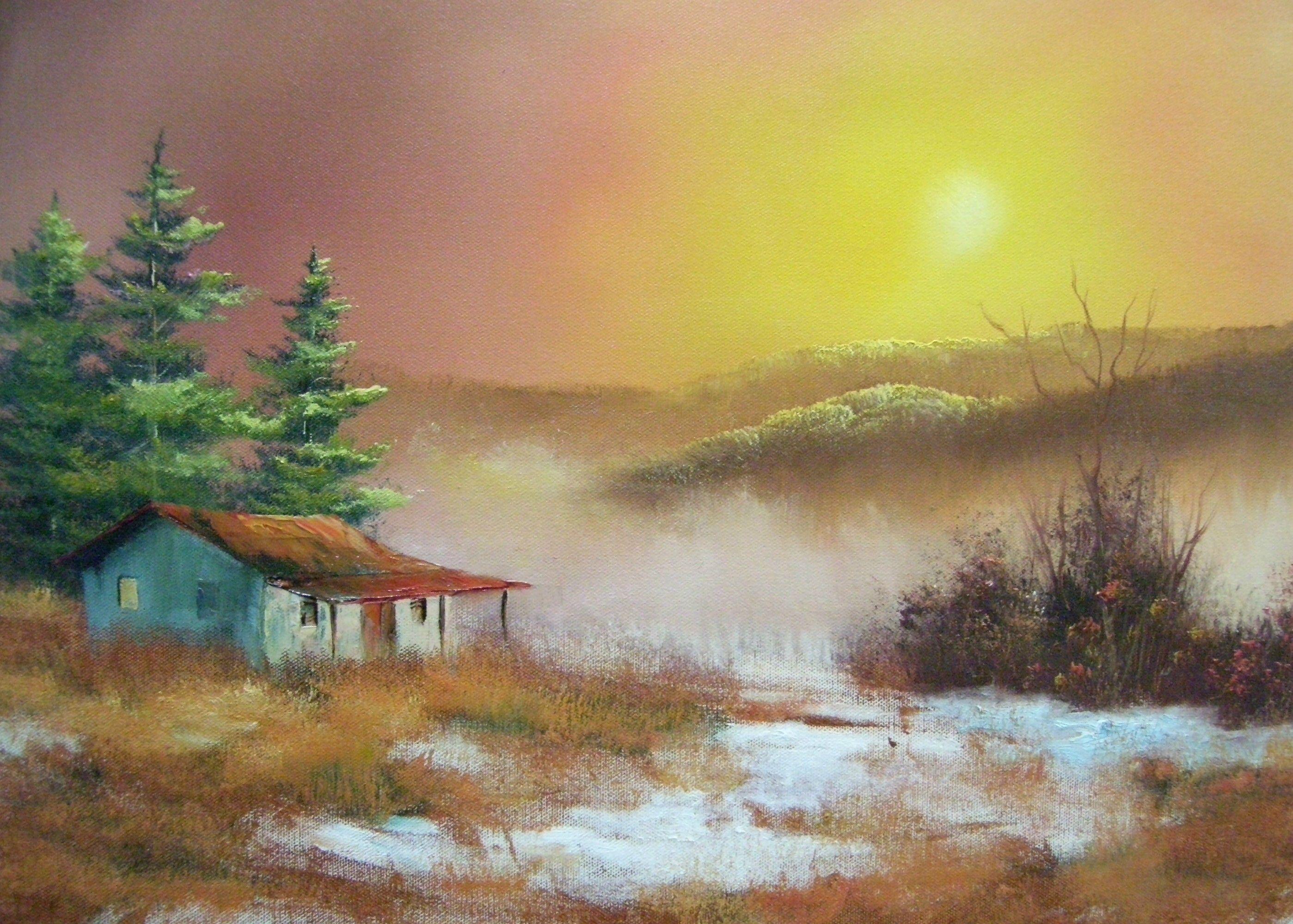 Pics s Shopping Bob Ross Autumn Fantasy Painting