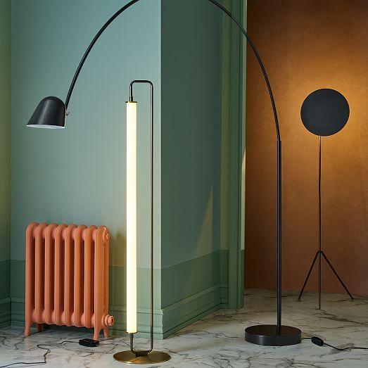 Linear Metal Led Floor Lamp Led Floor Lamp Floor Lamp Outdoor Floor Lamps