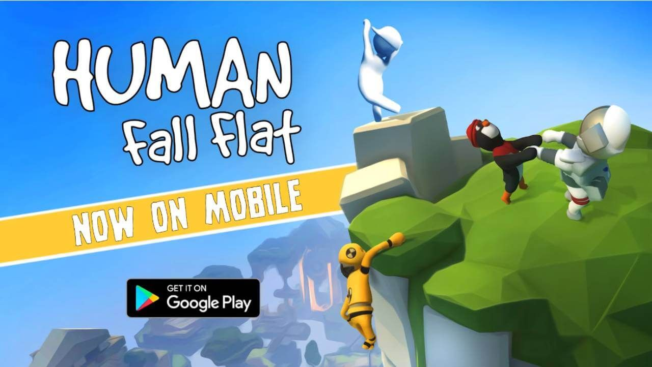 Human Fall Flat Apk Obb Full Paid Download For Android Teka Teki Trik Android Teka Teki