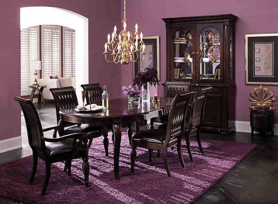 Super 20 Purple Dining Room Ideas Everyone Will Love Plum Purple Download Free Architecture Designs Scobabritishbridgeorg