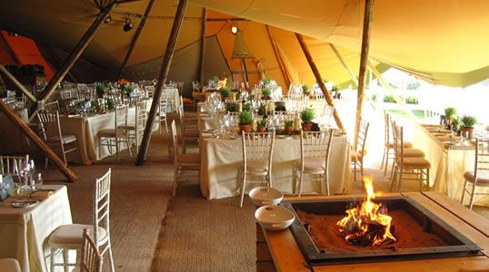 World Inspired Tents - Nordic Wedding Tipis & Inside the tipi | Wedding ideas | Pinterest | Tipi Tipi wedding ...