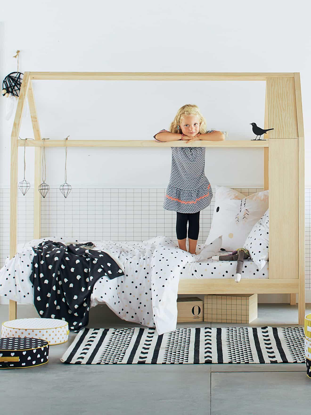 chambre enfant un lit cabane chez vertbaudet - Chambre Vert Baudet
