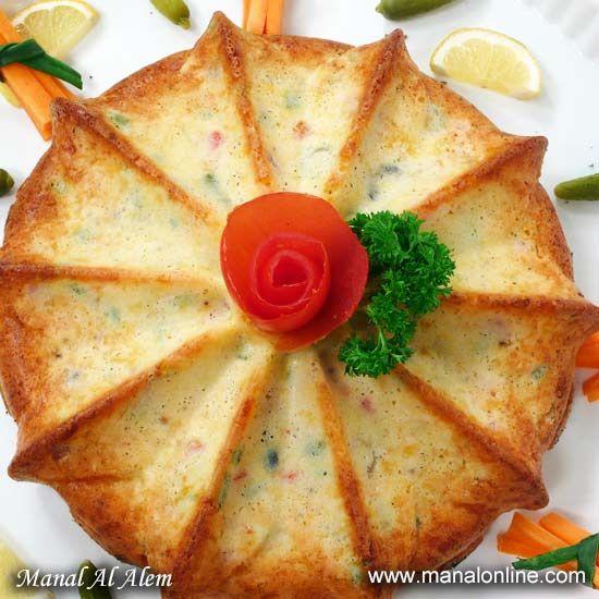 كيكة الجبنة المالحة Food Recipies Food Receipes Yummy Food Dessert