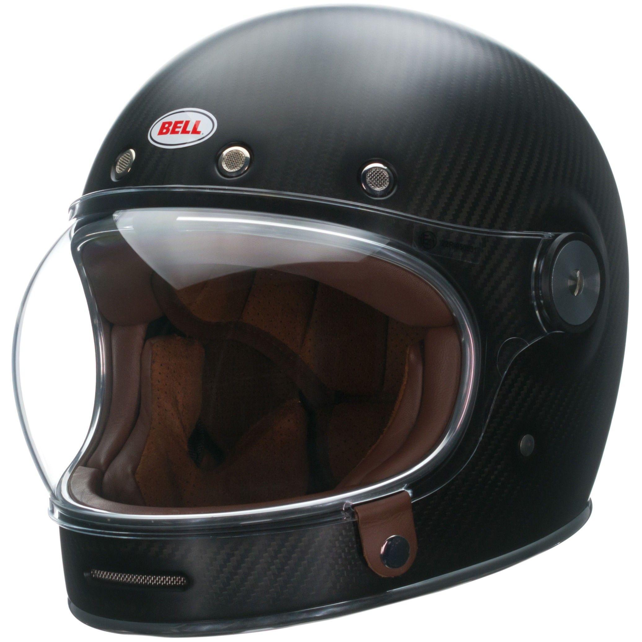 Bell Bullitt Carbon Helmet Casque Vintage Casque Bell Casque Moto Vintage