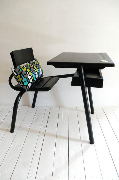 bureau chaise intégrée