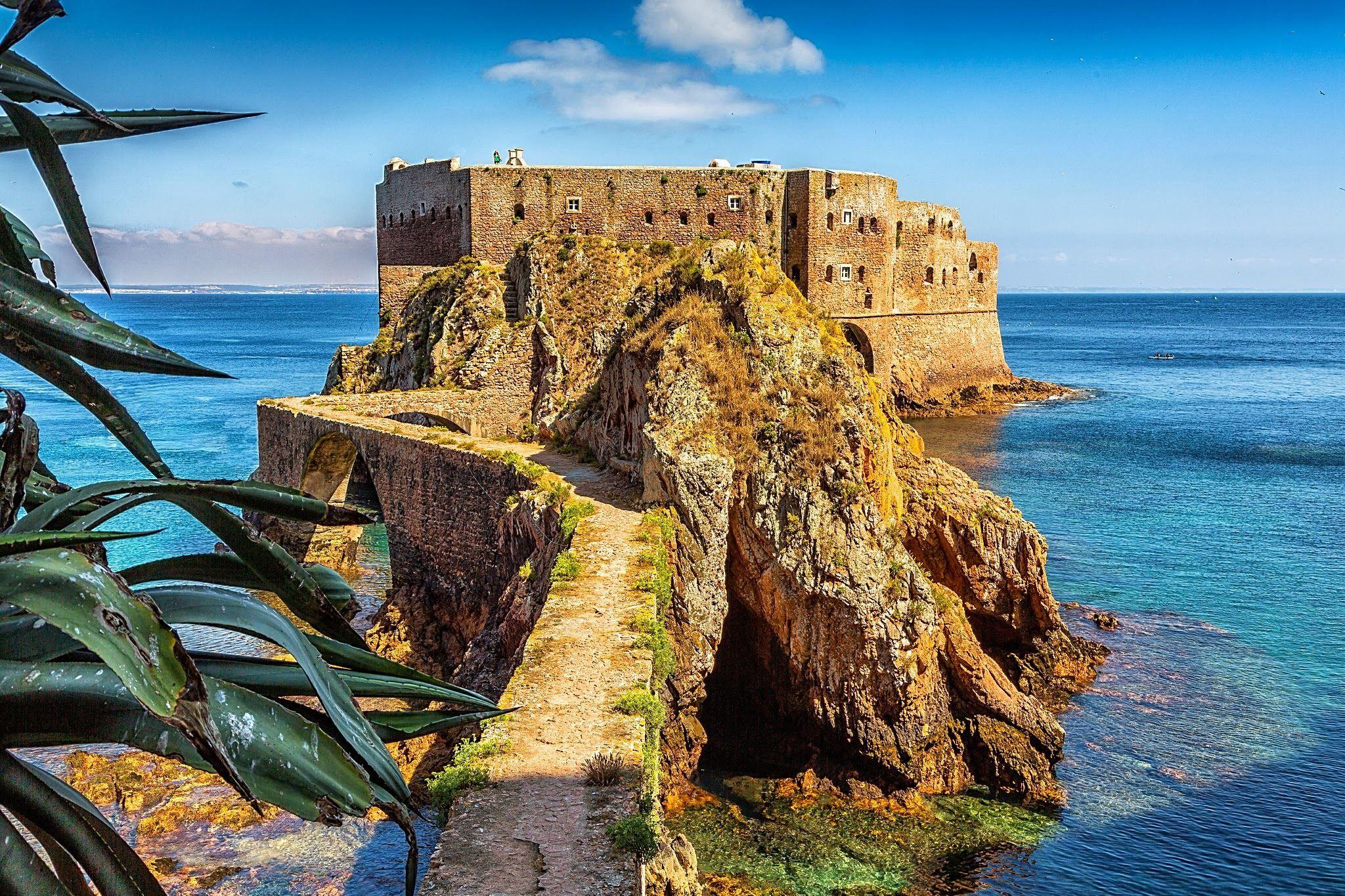 Forte de São João Baptista Portugal, Nature, Travel