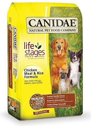 Canidae Life Stages Chicken Meal Rice Dog Food 15 Lbs Click