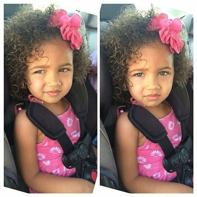 Beautiful Baby Girl With Curly Hair And Gorgeous Eyes With Images