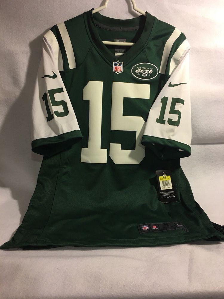 9b9542e9beb Nike NFL On Field Number 15 Marshall Green Men Jersey Size Small JETS JETS  JETS