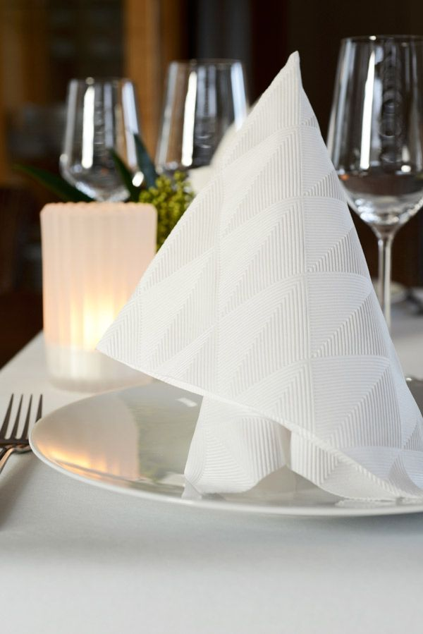 Duni Elegance® Crystal | A napkin for every taste | Pinterest
