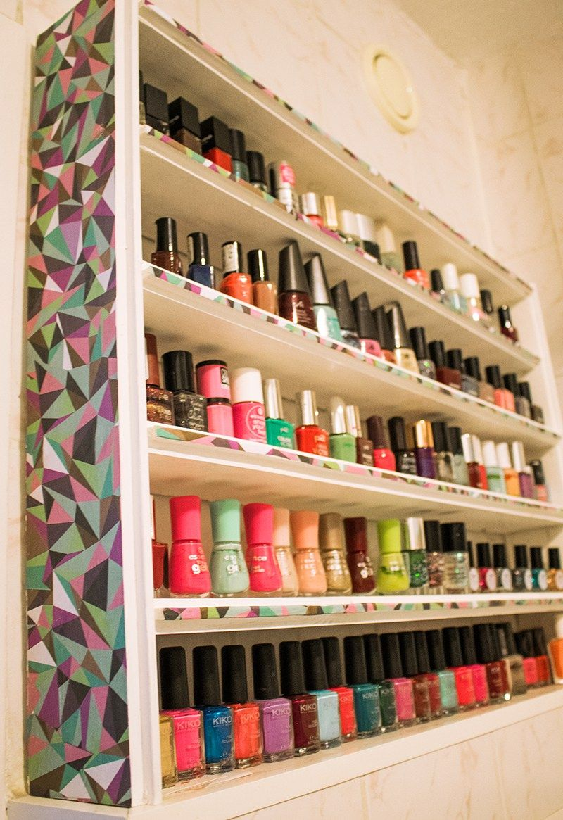 Upcycling – Kleines Nagellackregal › Do it yourself | Diy ...