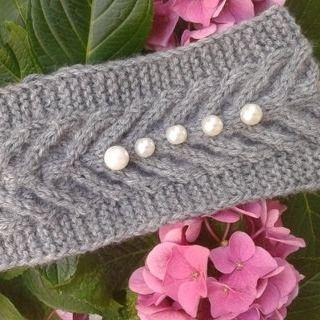 Bandeaux et turbans gris,Bandeau torsadé en laine/Bandeau en laine grise trico/bandeau torsadé cheveux/bandeau cheveux/headband laine #bandeaulaine