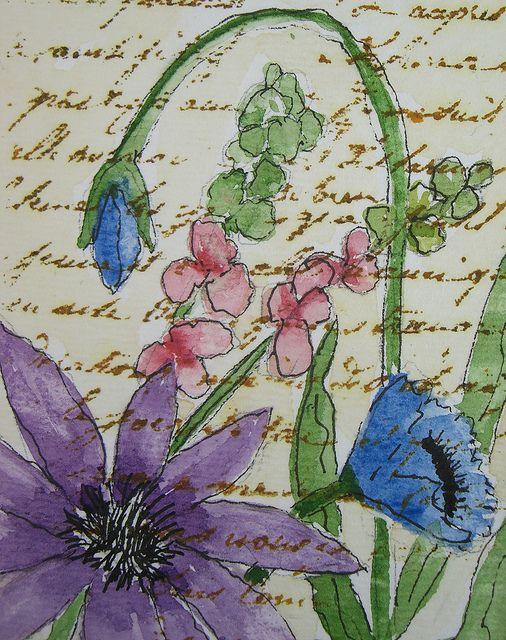 Spring Flowers by wildflowerhouse, via Flickr