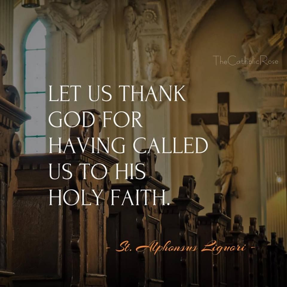 Holy faith in God