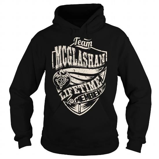 I Love Team MCGLASHAN Lifetime Member (Dragon) - Last Name, Surname T-Shirt Shirts & Tees