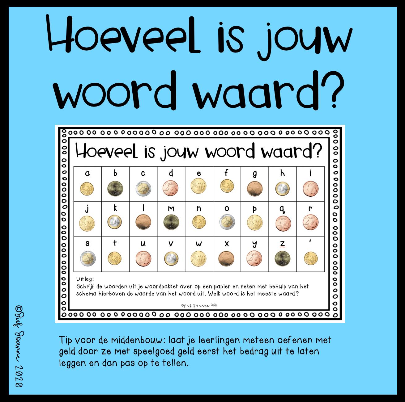 Hoeveel Is Jouw Woord Waard