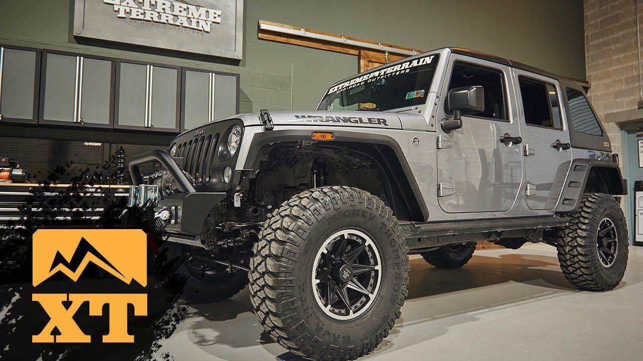 "2016 Wrangler JK Overhaul 35"" MT Tires, Teraflex 3"" Lift"