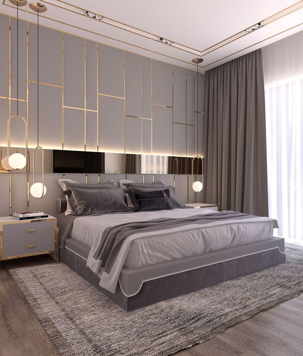 50 Gorgeous Modern Bedroom Decor Ideas Modernluxurybedroomdesign Simple Bedroom Design Luxury Bedroom Master Modern Style Bedroom Gorgeous transitional style bedroom
